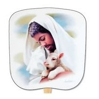 The Loving Shepherd Stock Religious & Inspirational Fan