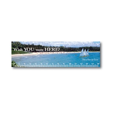 Series 100 Small Ruler Magnet 6""