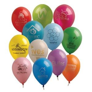 "11"" Standard Natural Latex Balloon"