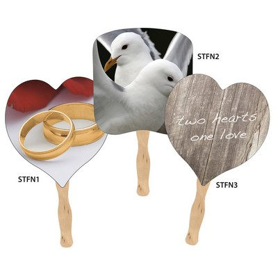 Stock Wedding Fans